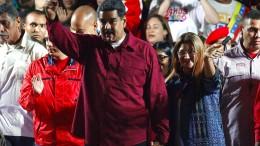 Maduro erklärt sich zum Wahlsieger