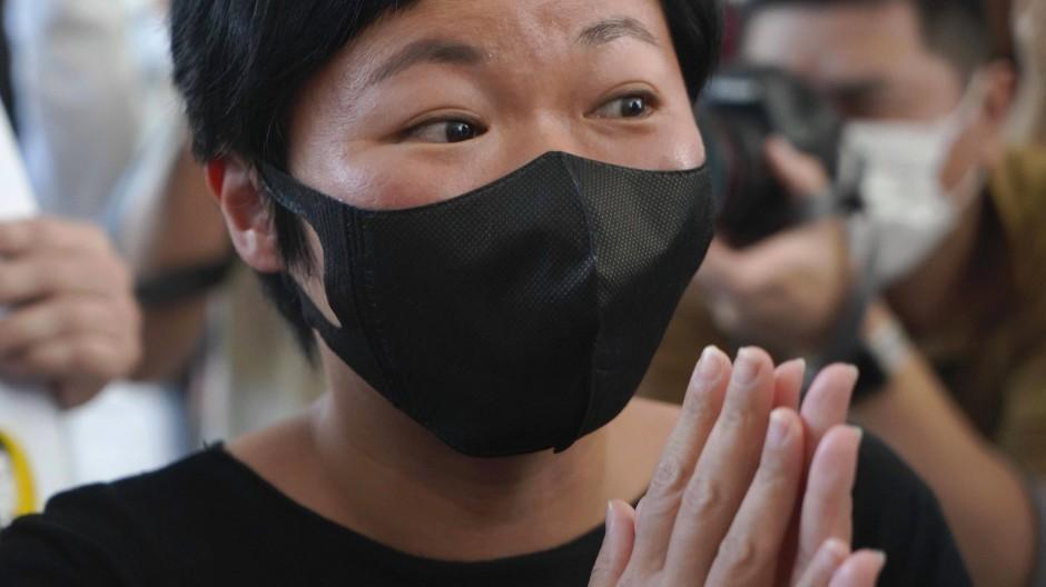Urteil gegen Journalistin in Hongkong.