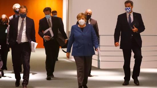 Bund und Länder beraten über neue Corona-Maßnahmen