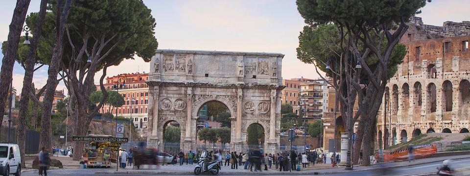 Der neue Quell der Euro-Sorgen: Blick auf das Kolosseum in Rom