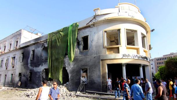 Anschlag auf Regierungsgebäude in Benghasi