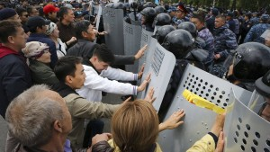 Demonstrationen eskalieren