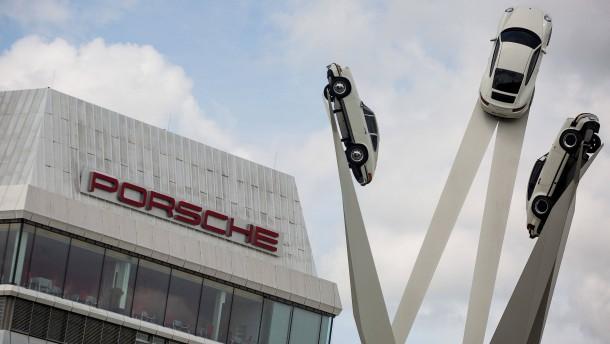 Porsche-Vorstände unter Verdacht