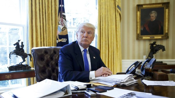 """Donald Trump, """"das Monster aus dem Sumpf"""""""