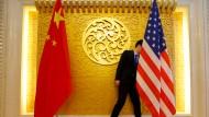 Auf Tuchfühlung: China rätselt, was die Volksrepublik den Amerikanern überhaupt anbieten kann.