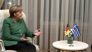 Merkel und die Griechen