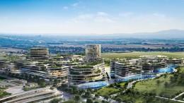 In Bad Vilbel soll die Bürostadt der Zukunft entstehen