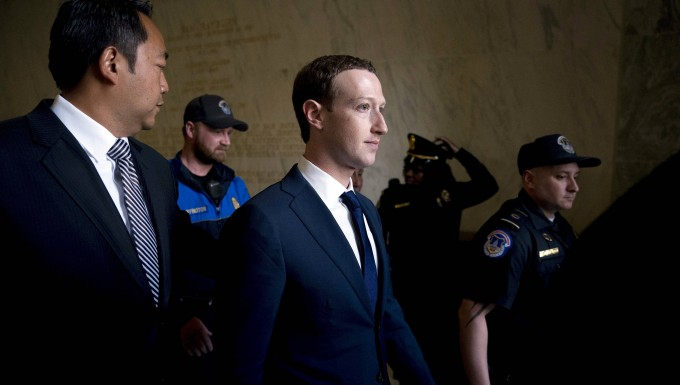 Mark Zuckerberg am Mittwoch in Washington.