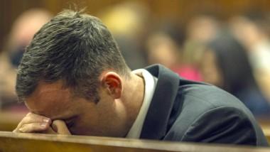 Oscar Pistorius im Gerichtssaal in Pretoria