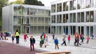 Fassade aus Glas: Die Europäische Schule in Frankfurt