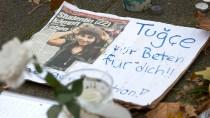 Gedenken an die Lehramtsstudentin Tugce Albayrak in Offenbach