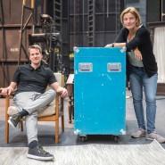 Zwei für Pergolesi: Dirigent Karsten Januschke und Regisseurin Katharina Thoma