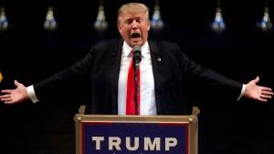 Geht Donald Trump das Geld aus?