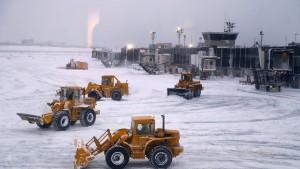 Flugchaos in New York wegen arktischer Kälte