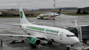 Germania-Flieger bleiben am Boden