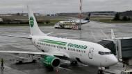 Die Fluggesellschaft Germania ist pleite.