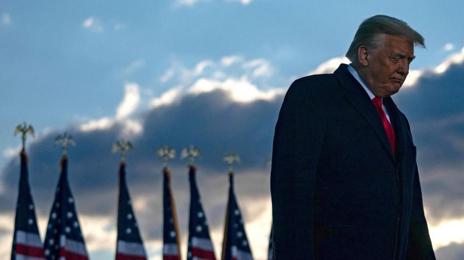 Der frühere amerikanische Präsident Donald Trump