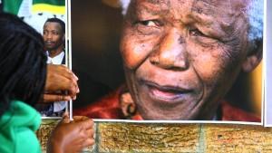 Sorge um Mandelas Gesundheitszustand
