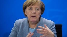 Merkel rügt Schmidt für Glyphosat-Entscheidung