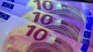 Vom 23. September an in Umlauf: der neue Zehn-Euro-Schein