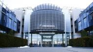 Die Zentrale von Fresenius in Bad Homburg bei Frankfurt.
