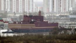 Russland stellt schwimmendes Atomkaftwerk in Dienst
