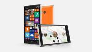 Das Nokia Lumia 930 mit dem Betriebssystem Windows Phone