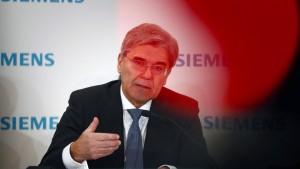 Joe Kaeser wird neuer Anführer fürs China-Geschäft