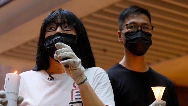 Hongkonger Aktivistin Chow Hang Tung festgenommen