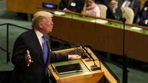 Trumps enge Weltsicht