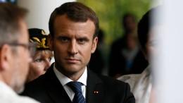 Frauen veröffentlichen Aufruf an Frankreichs Präsident Macron