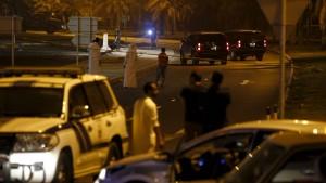 Bombenexplosion in Bahrein