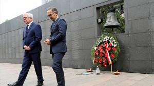 Maas gedenkt der Opfer des Warschauer Aufstands