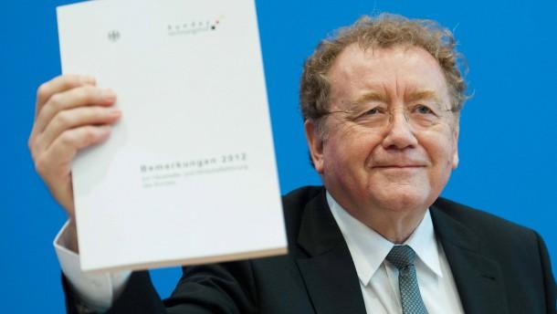 Bundesrechnungshof-Bericht 2012