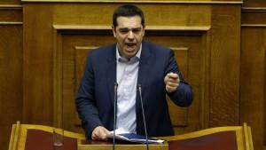 Tsipras: Rettungsprogramm ist gescheitert