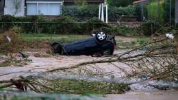 Tote und Schwerverletzte bei Überschwemmungen in Südfrankreich