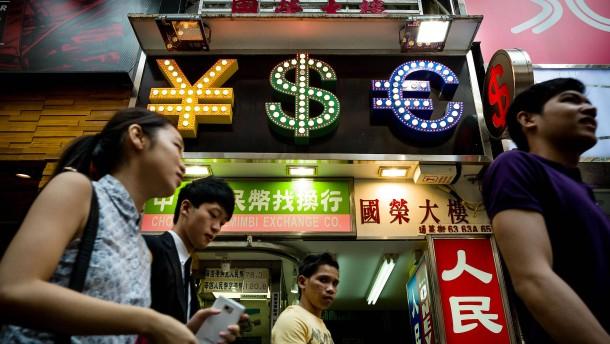 Dollar contra Yuan