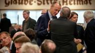 Wahlkampf im Kleinen: Friedrich Merz bei einer CDU-Veranstaltung am 10. November in Arnsberg.