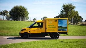 Deutsche Post will Brennstoffzelle testen