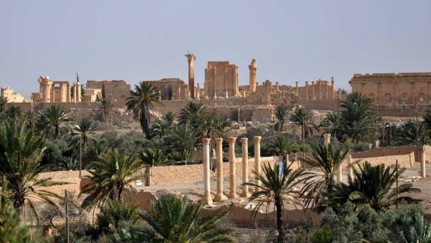 IS soll Ruinen von Palmyra vermint haben