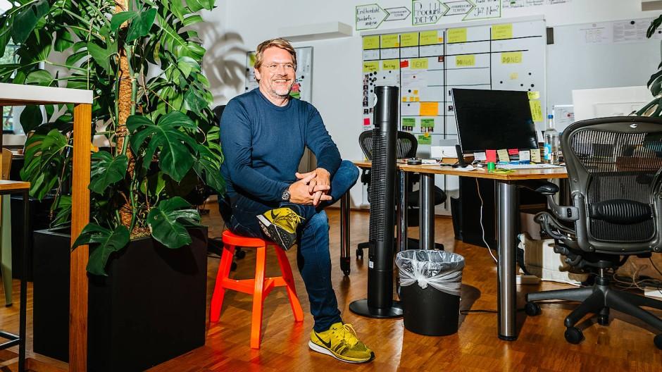 Führt agil: Tim Mois vom Telekommunikationsunternehmen Sipgate