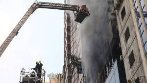Mindestens 17 Tote bei Brand in Büroturm in Bangladesch
