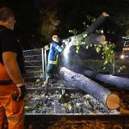 Starkregen und Sturm: Große Schäden durch Unwetter