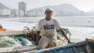 José Manoel Rebouças ist einer der letzten Fischer von Copacabana.