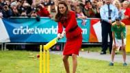 Sportlicher Auftritt für Prinz William und Kate