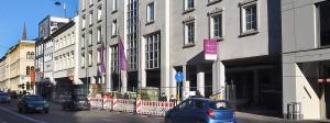 Gute Zeiten: Wiesbadener Hotels wie das Mercure an der Bahnhofstraße sind mit den Übernachtungszahlen zufrieden.
