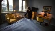 Frisch beschlossen: Touristen müssen in Frankfurt künftig eine Bettensteuer entrichten