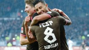 St. Pauli gelingt ein Befreiungsschlag