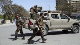 Mindestens zwei Tote bei Angriff auf Regierungsviertel