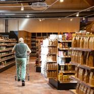 Einkaufsparadies: Auf nun 800 Quadratmetern verkauft der Dottenfelderhof Bio-Produkte.